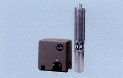 画像1: テラル(旧シントー) 32TWS-5.75-10 深井戸水中ポンプ 750W 10段 50Hz200V口径32