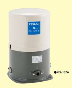 画像1: テラルN(旧ナショナル) PG-307A-6 60Hz 浅井戸用圧力タンク式ポンプ