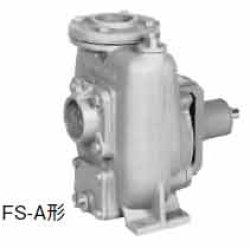 画像1: 川本 FS4-25-A ベルト掛用自吸うず巻きポンプ セルスーパー