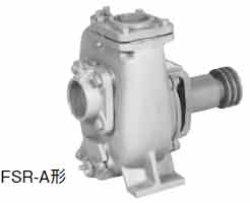 画像1: 代引不可 川本 FSR-100-A ベルト掛用自吸うず巻きポンプ セルスーパー 左回転