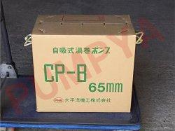 画像2: タカサゴ CP-B65 ベルト掛け自吸式渦巻きポンプ ヒューガルポンプ CPB65