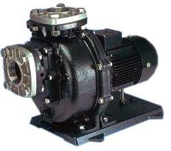 画像1: 代引不可 SANSO 50PSPZ-22033A-E3   PSPZ自吸式ヒューガルポンプ ハイブリッド 鋳物樹脂製海水用  屋外仕様 三相200V 50Hz 三相電機
